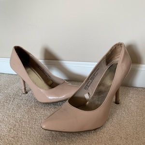 Mossimo Nude/ Pinky Beige Point Toe Pumps